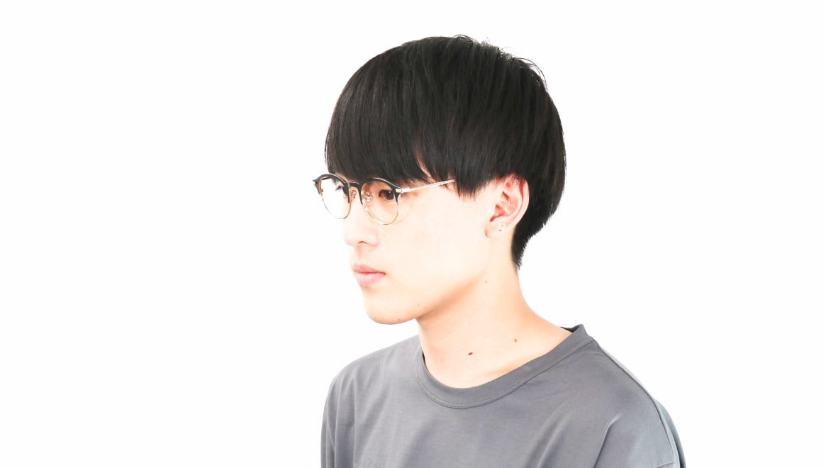Oh My Glasses TOKYO Benny omg-126-BKM-SV-47 [メタル/鯖江産/丸メガネ]  5