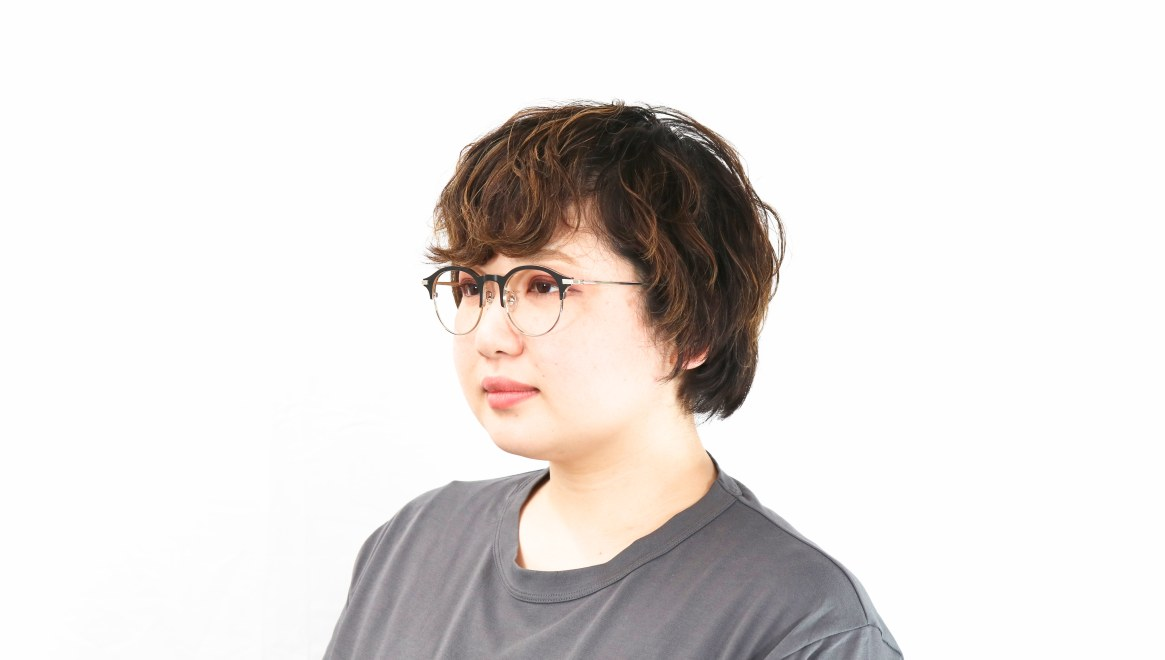 Oh My Glasses TOKYO Benny omg-126-BKM-SV-47 [メタル/鯖江産/丸メガネ]  7
