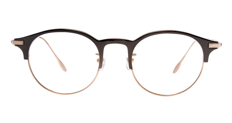 Oh My Glasses TOKYO Benny-omg-126ーBZー47 [メタル/鯖江産/丸メガネ/茶色]