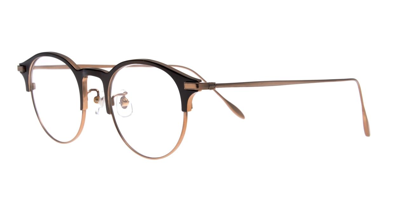 Oh My Glasses TOKYO Benny-omg-126ーBZー47 [メタル/鯖江産/丸メガネ/茶色]  1