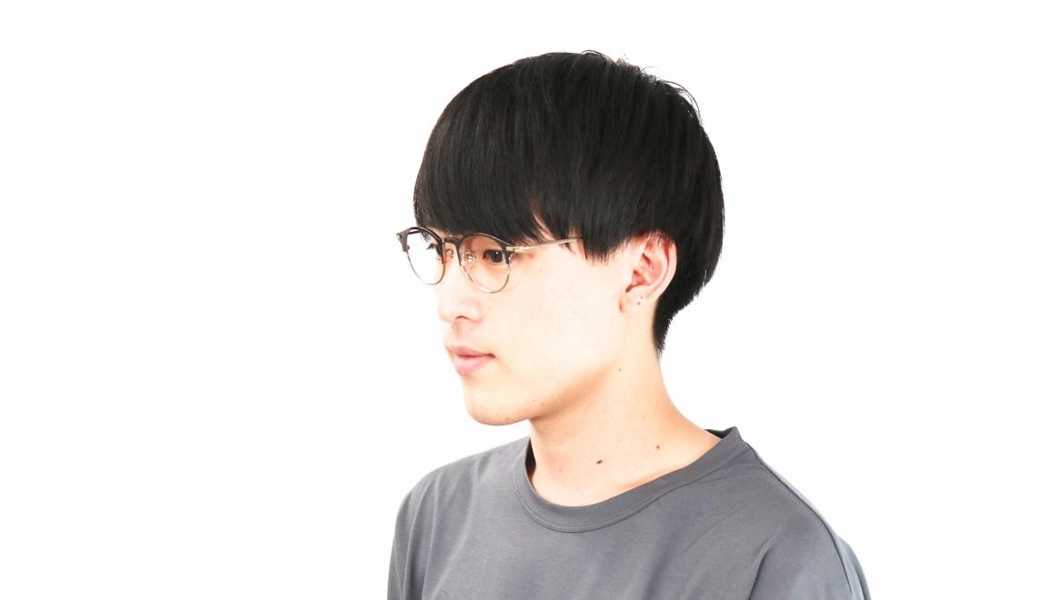 Oh My Glasses TOKYO Benny-omg-126ーBZー47 [メタル/鯖江産/丸メガネ/茶色]  5