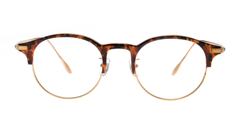 Oh My Glasses TOKYO Benny omg-126-Demi-47 [メタル/鯖江産/丸メガネ/べっ甲柄]