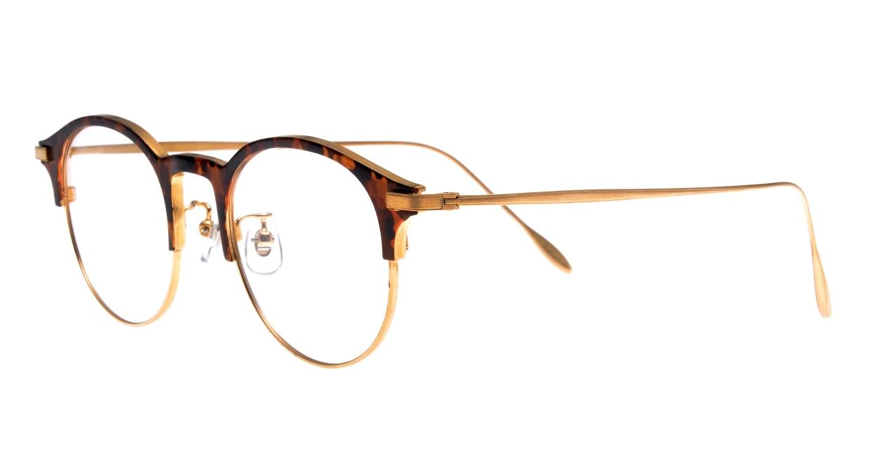 Oh My Glasses TOKYO Benny omg-126-Demi-47 [メタル/鯖江産/丸メガネ/べっ甲柄]  1