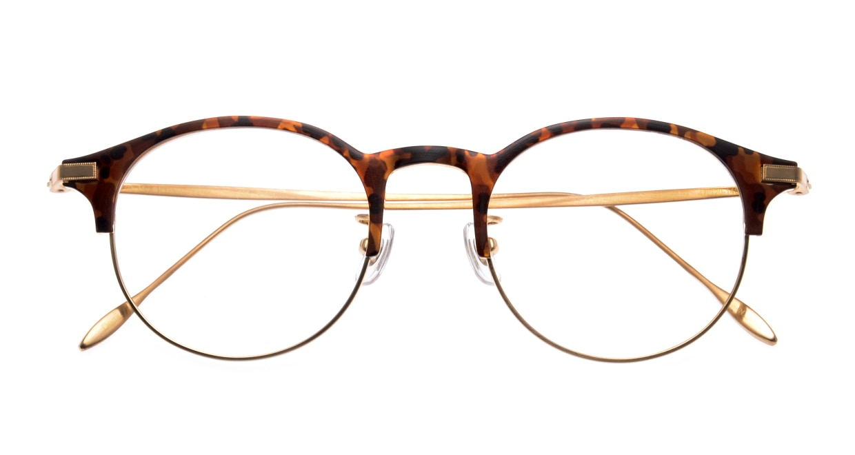 Oh My Glasses TOKYO Benny omg-126-Demi-47 [メタル/鯖江産/丸メガネ/べっ甲柄]  3