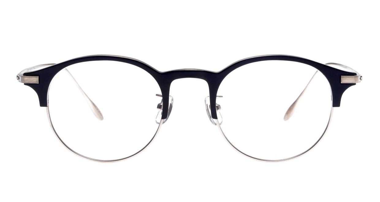 Oh My Glasses TOKYO Benny omg-126-NV-SV-47 [メタル/鯖江産/丸メガネ/青]