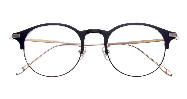 Oh My Glasses TOKYO Benny omg-126-NV-SV-47 [メタル/鯖江産/丸メガネ/青]  3