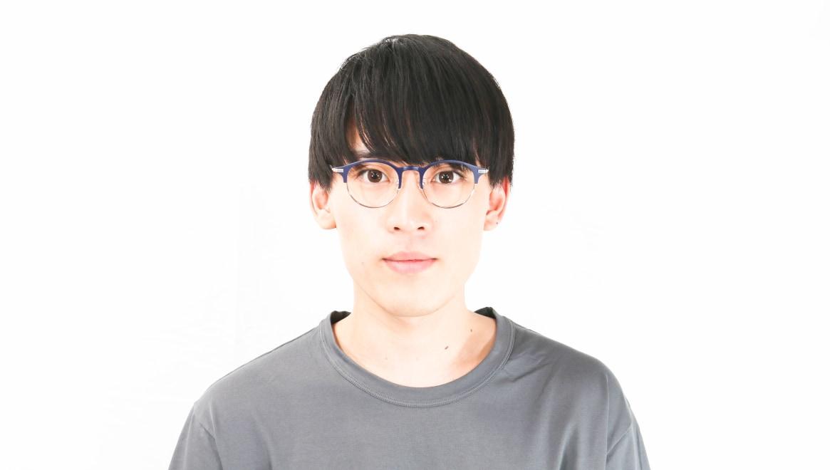 Oh My Glasses TOKYO Benny omg-126-NV-SV-47 [メタル/鯖江産/丸メガネ/青]  4