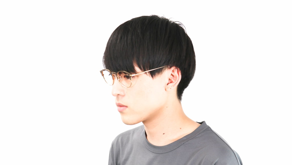 Oh My Glasses TOKYO Benny-omg-126ーBRー47 [メタル/鯖江産/丸メガネ/茶色]  5