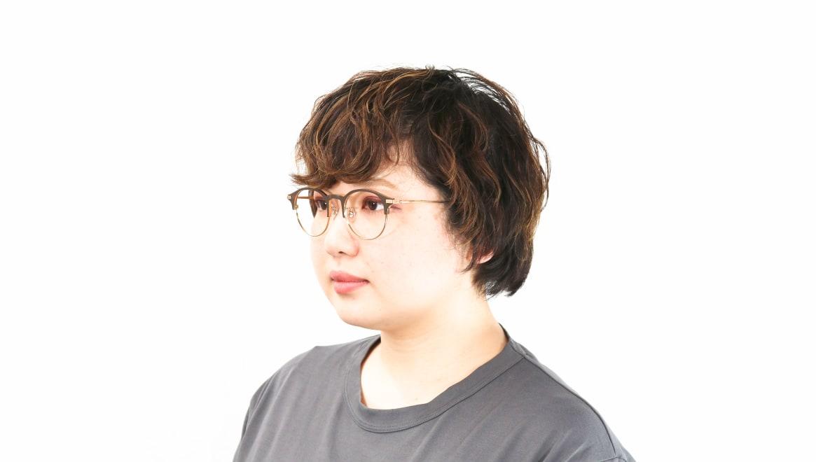 Oh My Glasses TOKYO Benny-omg-126ーBRー47 [メタル/鯖江産/丸メガネ/茶色]  7