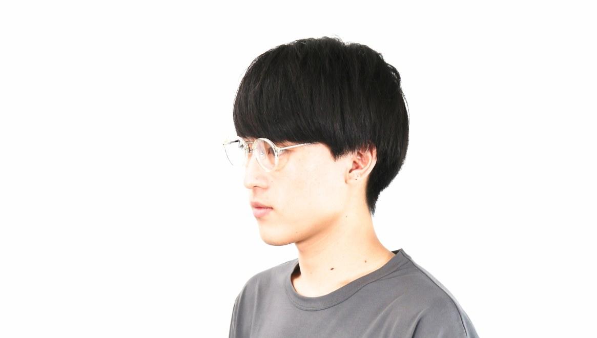 オニメガネ OG7101-CL-47 [鯖江産/丸メガネ/透明]  5
