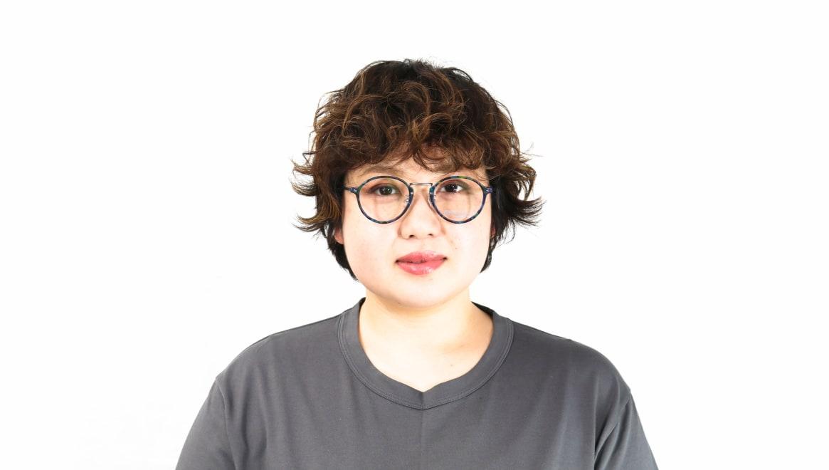 オニメガネ OG7101-C2-47 [鯖江産/丸メガネ/派手]  6