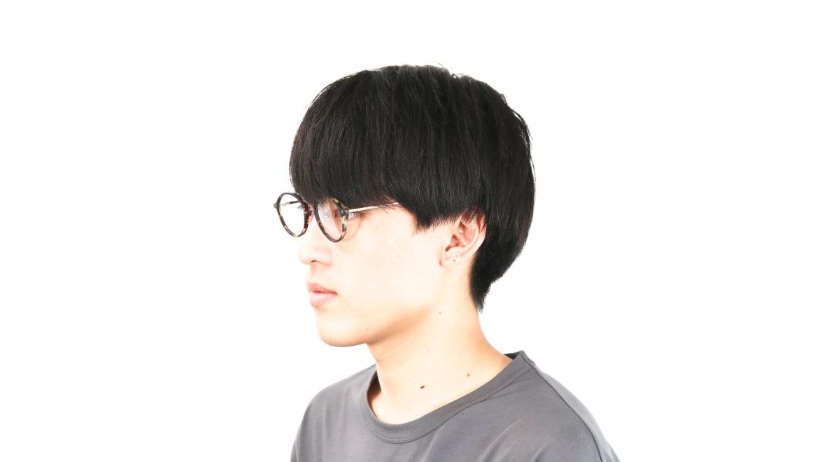 オニメガネ OG7101-C3-47 [鯖江産/丸メガネ/べっ甲柄]  5