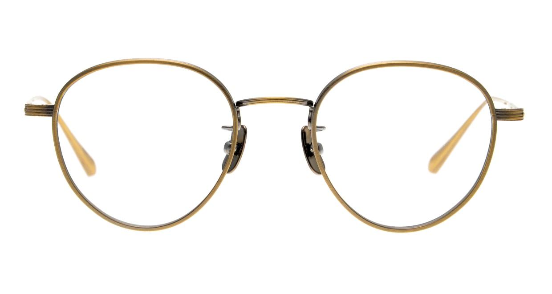 seem Oh My Glasses TOKYO Lester omg-107-ATG-49 [メタル/鯖江産/丸メガネ/ゴールド]