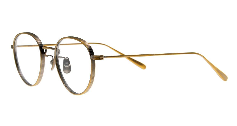 seem Oh My Glasses TOKYO Lester omg-107-ATG-49 [メタル/鯖江産/丸メガネ/ゴールド]  1
