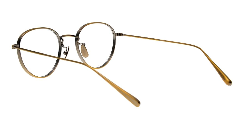 seem Oh My Glasses TOKYO Lester omg-107-ATG-49 [メタル/鯖江産/丸メガネ/ゴールド]  3