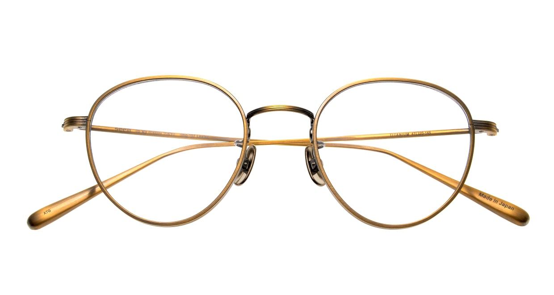 seem Oh My Glasses TOKYO Lester omg-107-ATG-49 [メタル/鯖江産/丸メガネ/ゴールド]  4