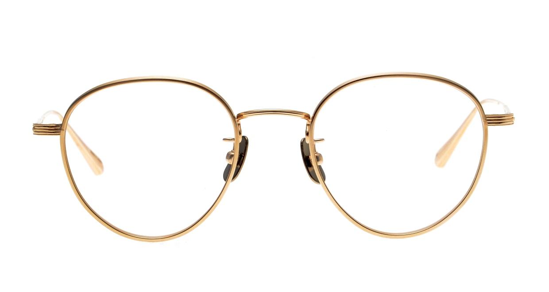 Oh My Glasses TOKYO Lester omg-107-GD-49 [メタル/鯖江産/丸メガネ/ゴールド]