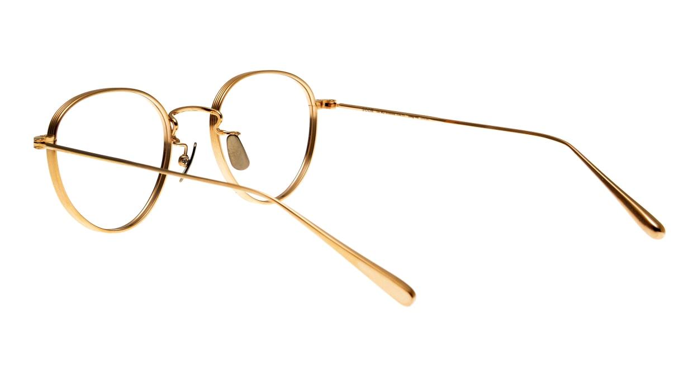 Oh My Glasses TOKYO Lester omg-107-GD-49 [メタル/鯖江産/丸メガネ/ゴールド]  3