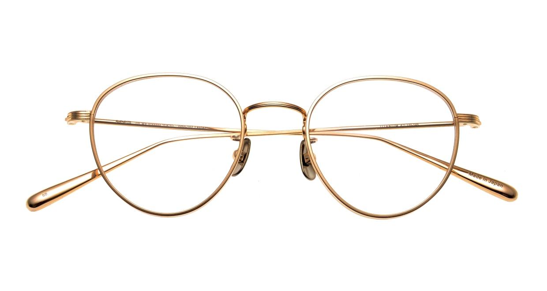 Oh My Glasses TOKYO Lester omg-107-GD-49 [メタル/鯖江産/丸メガネ/ゴールド]  4