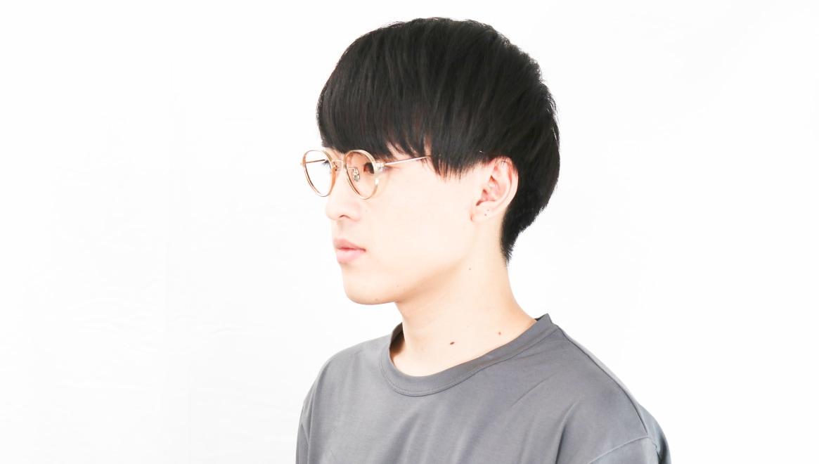 seem Oh My Glasses TOKYO Lester omg-107-GD-49 [メタル/鯖江産/丸メガネ/ゴールド]  6