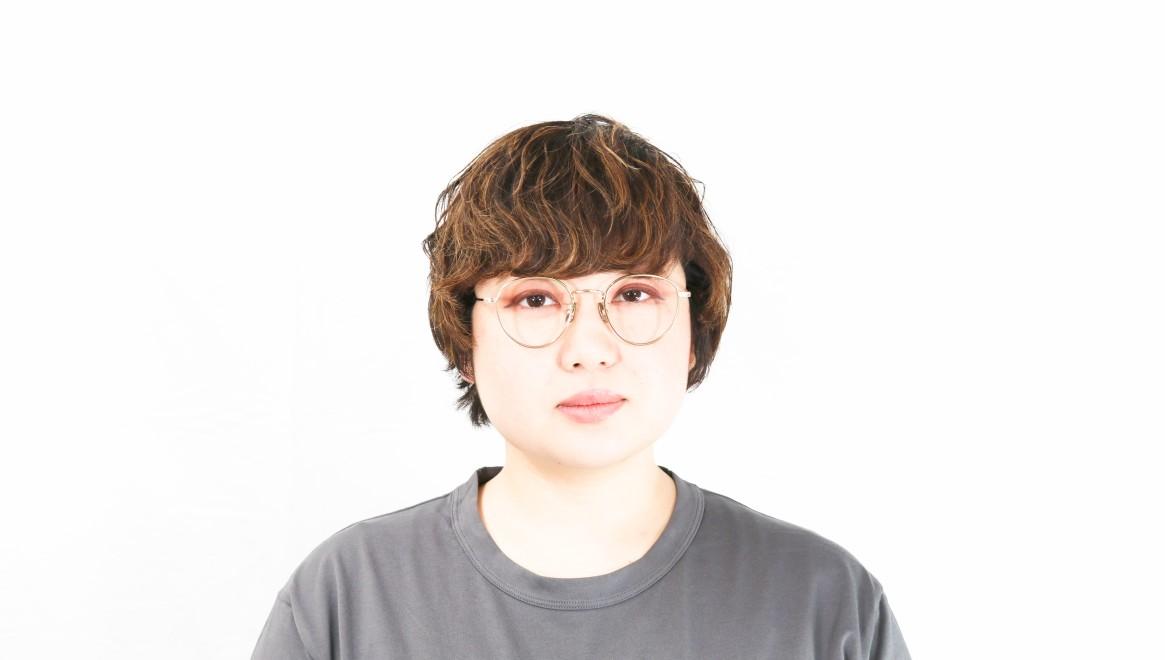 seem Oh My Glasses TOKYO Lester omg-107-GD-49 [メタル/鯖江産/丸メガネ/ゴールド]  7