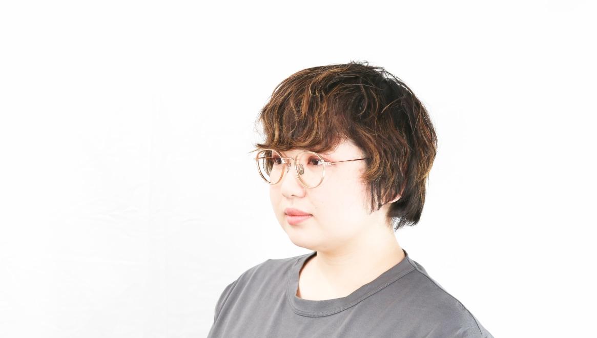 seem Oh My Glasses TOKYO Lester omg-107-GD-49 [メタル/鯖江産/丸メガネ/ゴールド]  8