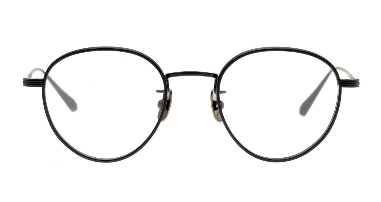 seem Oh My Glasses TOKYO Lester omg-107-MBK-49 [メタル/鯖江産/丸メガネ]