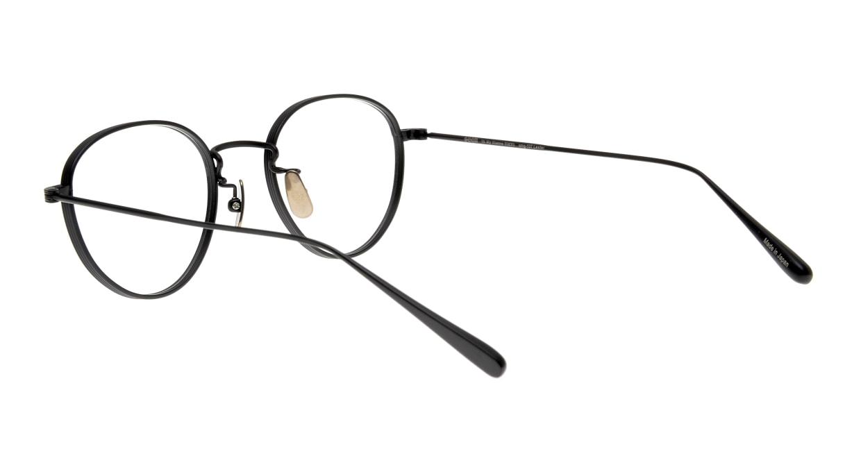 seem Oh My Glasses TOKYO Lester omg-107-MBK-49 [メタル/鯖江産/丸メガネ]  3