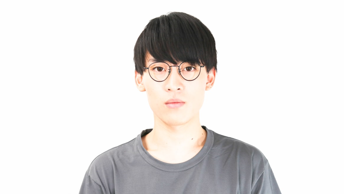seem Oh My Glasses TOKYO Lester omg-107-MBK-49 [メタル/鯖江産/丸メガネ]  5