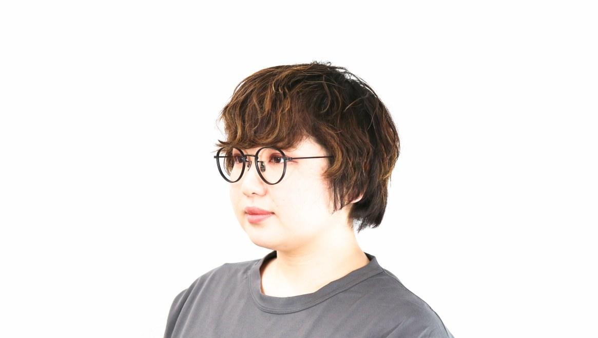 seem Oh My Glasses TOKYO Lester omg-107-MBK-49 [メタル/鯖江産/丸メガネ]  8