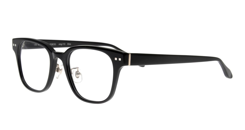 Oh My Glasses TOKYO Elvis omg-113-BK-51 [黒縁/鯖江産/ウェリントン]  1