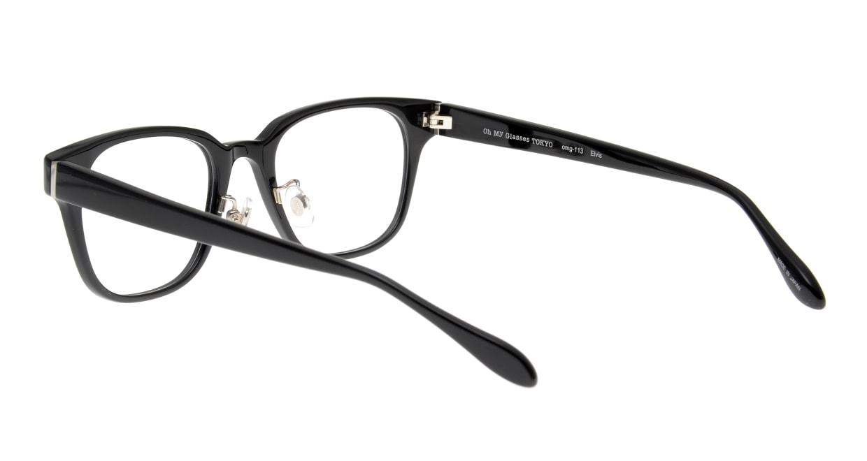 Oh My Glasses TOKYO Elvis omg-113-BK-51 [黒縁/鯖江産/ウェリントン]  3