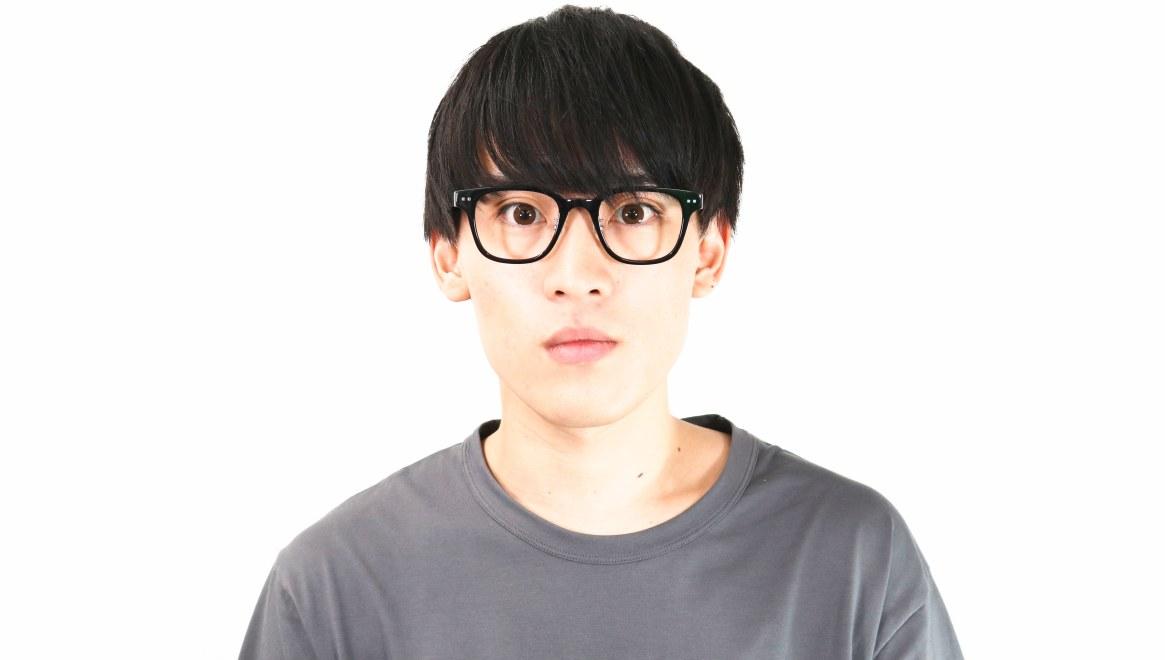 Oh My Glasses TOKYO Elvis omg-113-BK-51 [黒縁/鯖江産/ウェリントン]  4