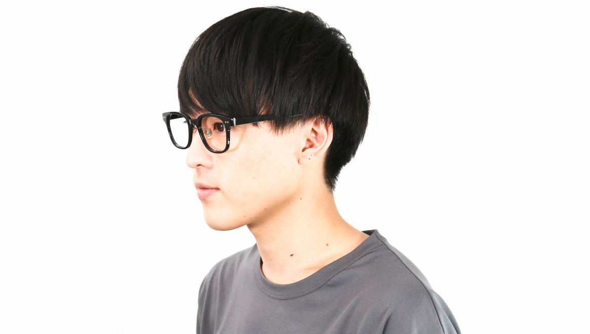 Oh My Glasses TOKYO Elvis omg-113-BK-51 [黒縁/鯖江産/ウェリントン]  5