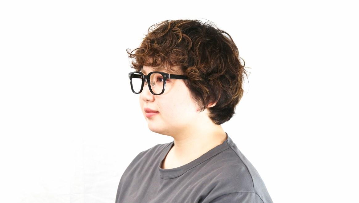 Oh My Glasses TOKYO Elvis omg-113-BK-51 [黒縁/鯖江産/ウェリントン]  7