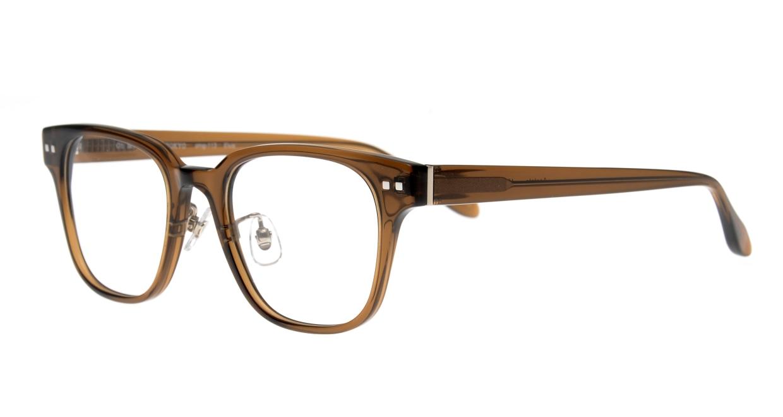 Oh My Glasses TOKYO Elvis omg-113-BR-51 [鯖江産/ウェリントン/茶色]  1