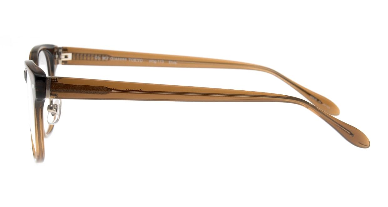 Oh My Glasses TOKYO Elvis omg-113-BR-51 [鯖江産/ウェリントン/茶色]  2