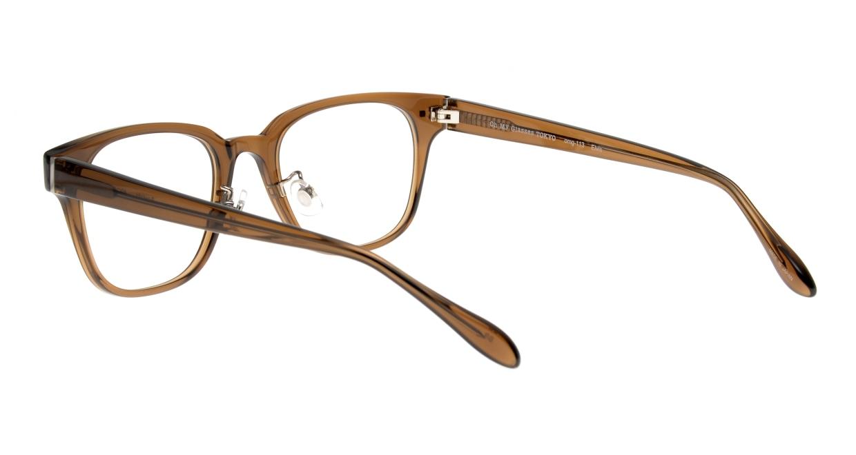 Oh My Glasses TOKYO Elvis omg-113-BR-51 [鯖江産/ウェリントン/茶色]  3