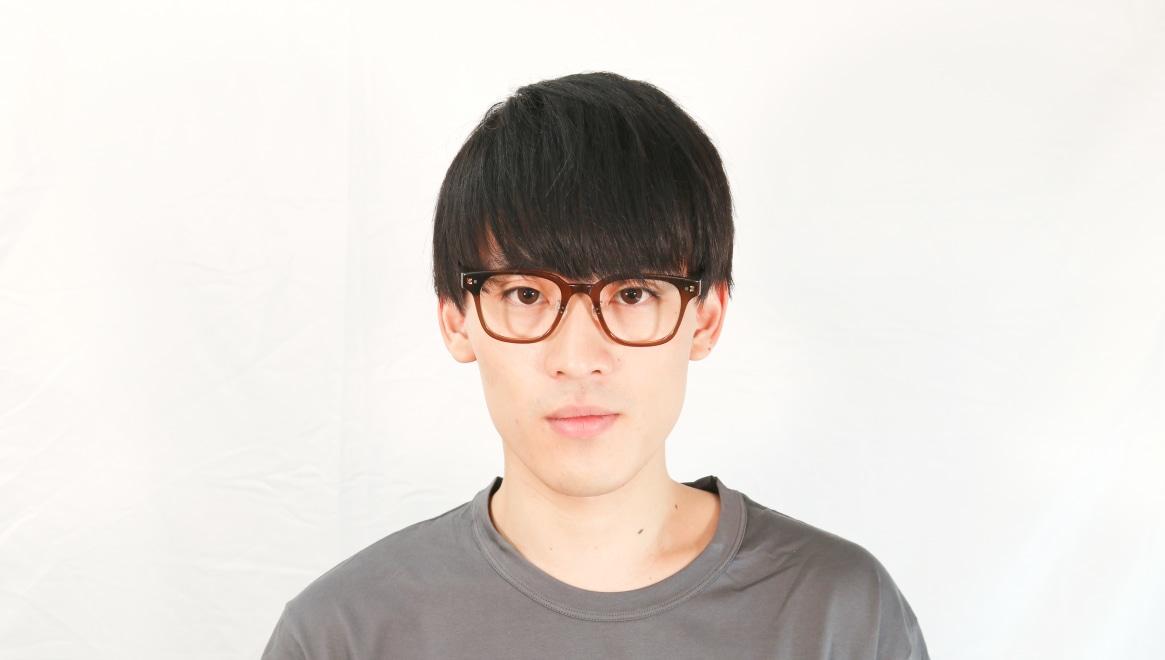 Oh My Glasses TOKYOomg-113-BR-51-Elvis [鯖江産/ウェリントン/茶色]  4