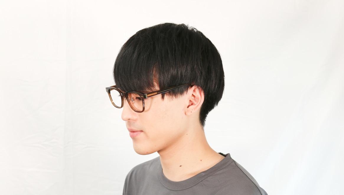Oh My Glasses TOKYOomg-113-BR-51-Elvis [鯖江産/ウェリントン/茶色]  5