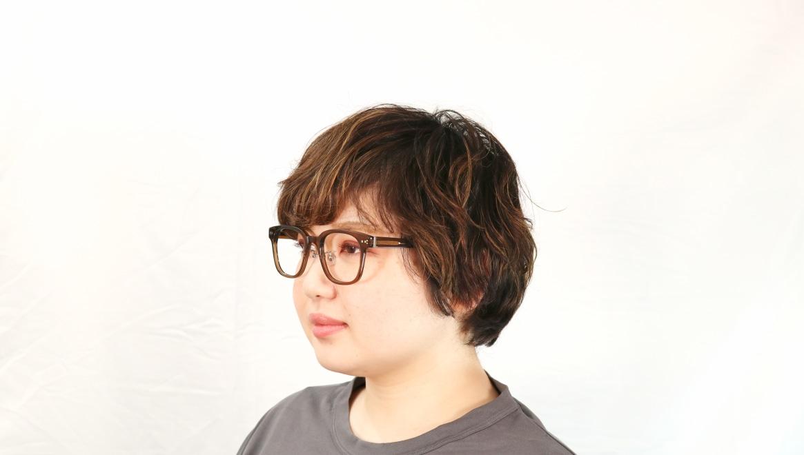 Oh My Glasses TOKYOomg-113-BR-51-Elvis [鯖江産/ウェリントン/茶色]  7