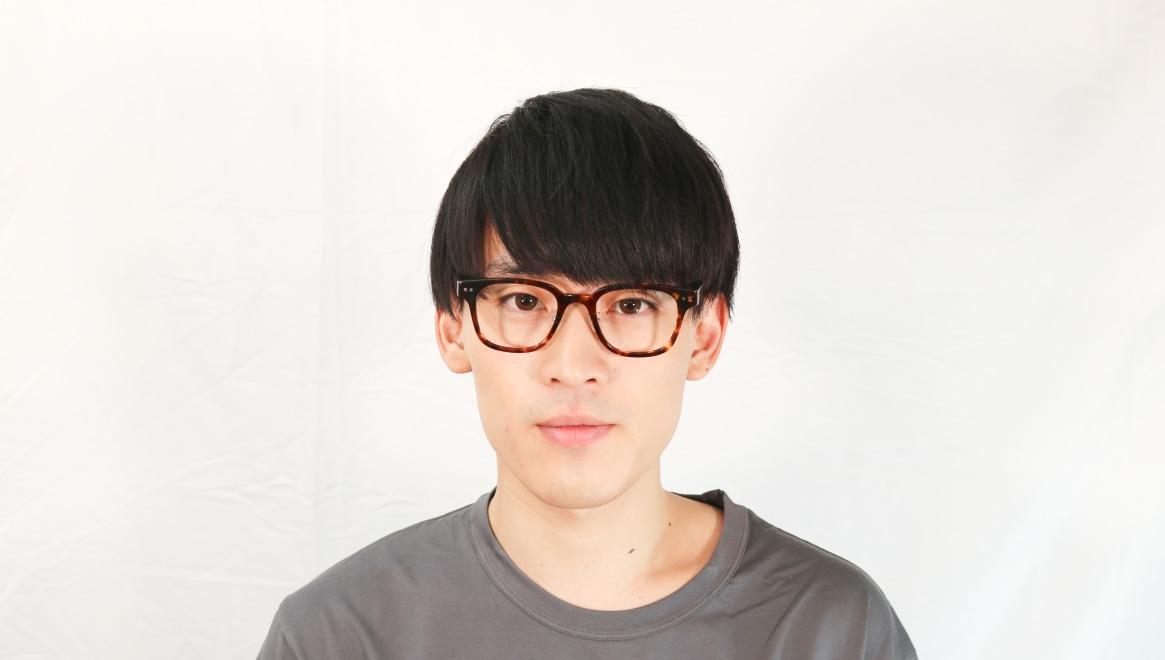 Oh My Glasses TOKYO Elvis omg-113-DM-51 [鯖江産/ウェリントン/べっ甲柄]  4