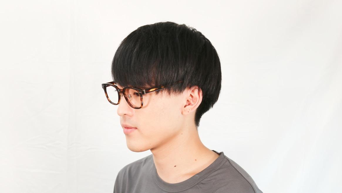 Oh My Glasses TOKYO Elvis omg-113-DM-51 [鯖江産/ウェリントン/べっ甲柄]  5
