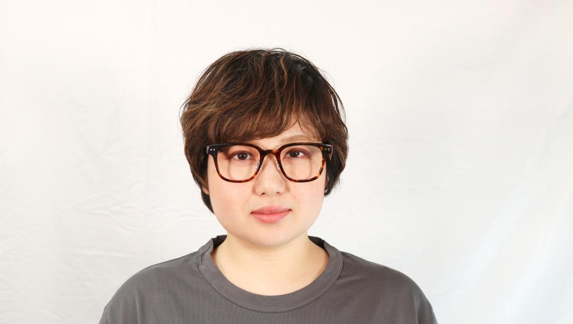 Oh My Glasses TOKYO Elvis omg-113-DM-51 [鯖江産/ウェリントン/べっ甲柄]  6