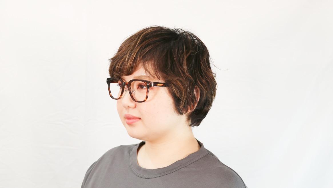 Oh My Glasses TOKYO Elvis omg-113-DM-51 [鯖江産/ウェリントン/べっ甲柄]  7