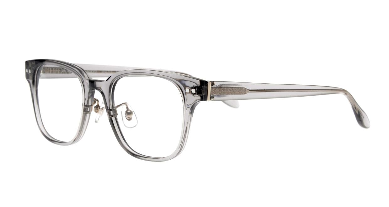 Oh My Glasses TOKYO Elvis omg-113-GRY-51 [鯖江産/ウェリントン/グレー]  1
