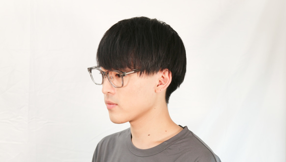 Oh My Glasses TOKYO Elvis omg-113-GRY-51 [鯖江産/ウェリントン/グレー]  5
