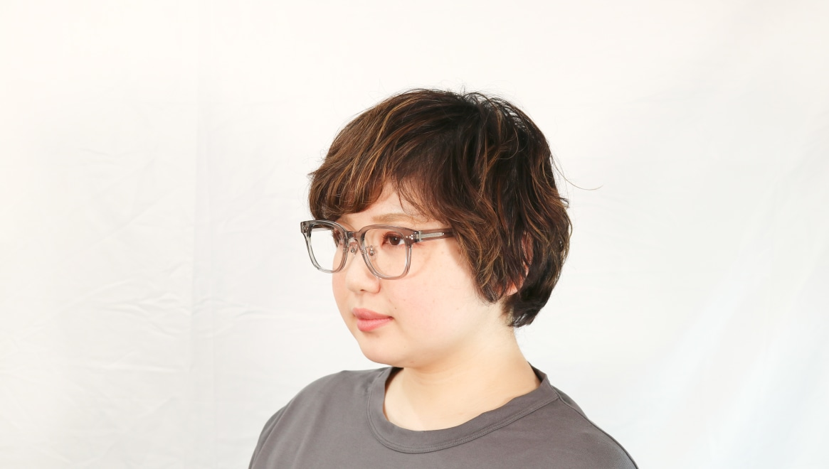 Oh My Glasses TOKYO Elvis omg-113-GRY-51 [鯖江産/ウェリントン/グレー]  7