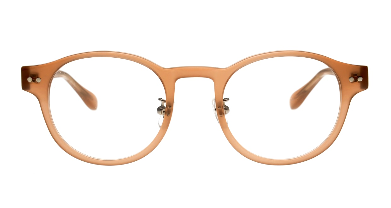 Oh My Glasses TOKYO Doris omg-114-BE-50 [鯖江産/丸メガネ/ベージュ]