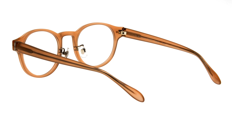 Oh My Glasses TOKYO Doris omg-114-BE-50 [鯖江産/丸メガネ/ベージュ]  3
